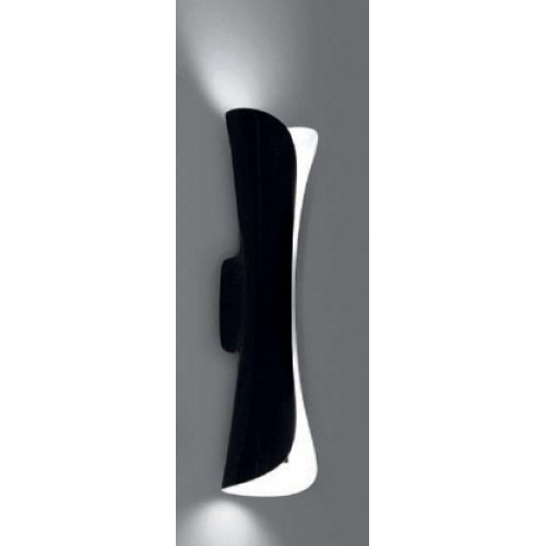 CADMO PARETE WALL LAMP BLACK