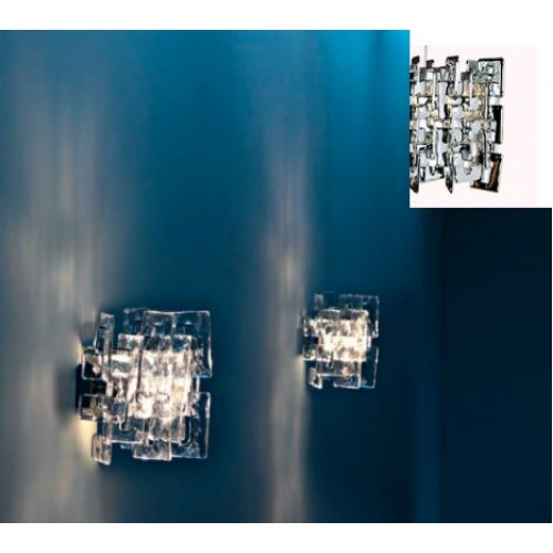 SIXTY TRANSPARENTE WALL LAMP