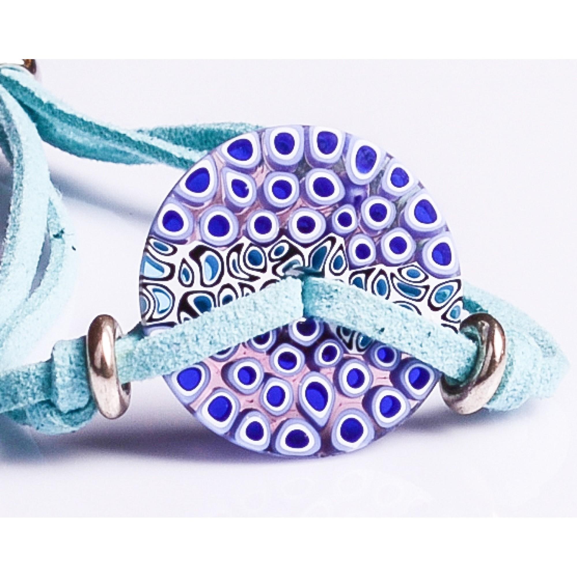 BLUE BRACELET ASTER - ANT.BR583A07 -  BLUE BRACELET ASTER