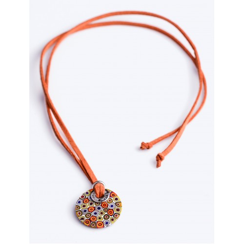 NECKLACE ASTER TURUNCU