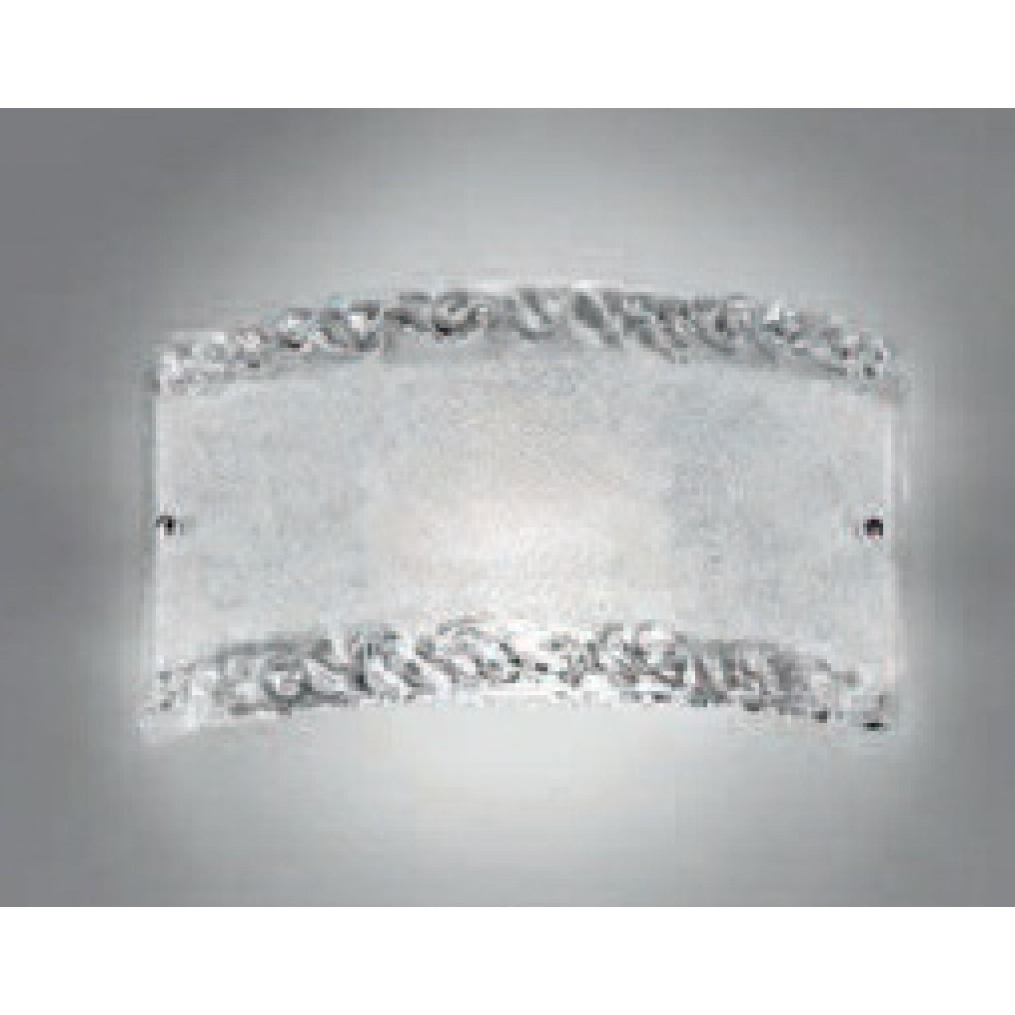AMALFI 1L APLIK L:37cm H:18,5cm - Murano -  LUCECREA