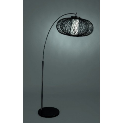 KYRAN floor lamp black 1x60W 230V