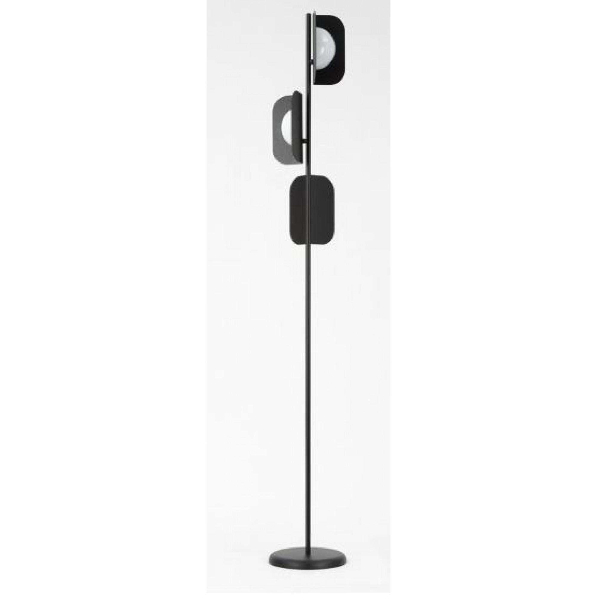 3L FLOOR LAMP WITHWHITE GLASSES D.30 H.205 V2805 s - Modern -  MM LAMPADARI