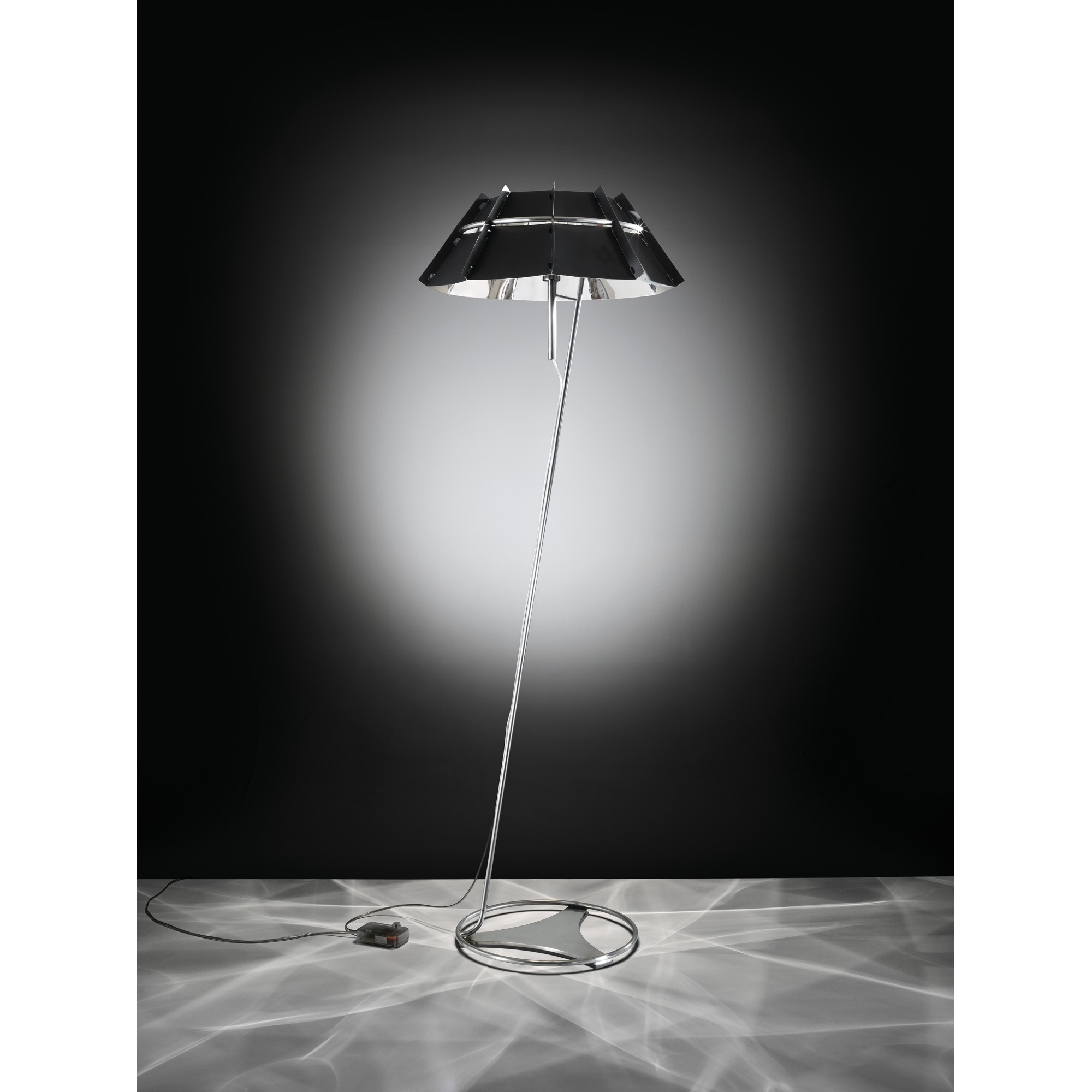 CHAPEAU 1L BLACK LAMBADER - Modern -  SLAMP